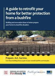 A guide to retrofit your home for better protection from a bushfire