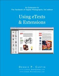 Using eTexts & Extensions - PhotoCourse