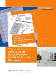 Bemessung von Wandtafeln nach DIN EN 1995-1-1:2010 (Eurocode 5 ...