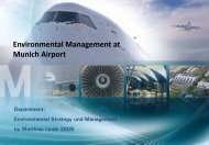 Environmental Management at Munich Airport - Airports Going Green
