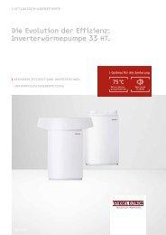 Inverterwärmepumpe 33 HT. - Stiebel Eltron