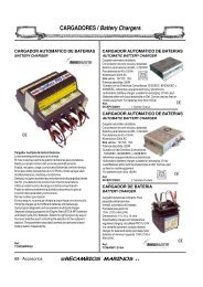 CARGADORES / Battery Chargers - SERAPHILUS marine doo