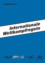Internationale Wettkampfregeln - Deutscher Leichtathletik-Verband