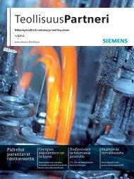 TeollisuusPartneri | 1/2012 - Siemens