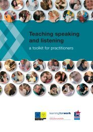 Teaching speaking and listening - Excellence Gateway