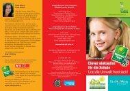 Deutsches - Clever einkaufen für die Schule