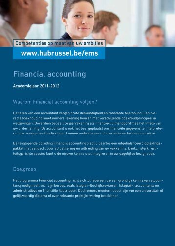 Financial accounting - HUBRUSSEL.net