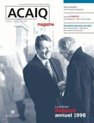 ACAIQ magazine 6/1 - oaciq
