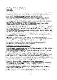 1 Haushaltsrede 2008 der Cdu-Fraktion 28.02.2008 ... - CDU Saar