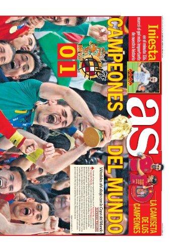 mundial 2010 - Diario As