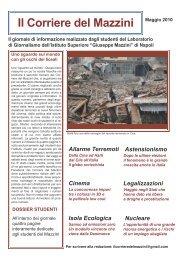 Maggio 2010 - Istituto Superiore Mazzini Napoli