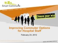 Improving Commuter Options for Hospital Staff - Smart Commute