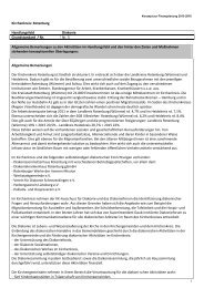 Grundstandard 2013-2016 KK ROW - Kirchenkreis Rotenburg