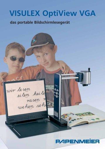 Datenblatt VISULEX OptiView VGA - FH Papenmeier GmbH & Co. KG