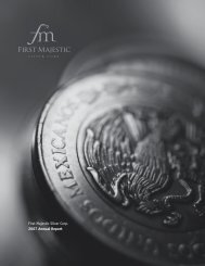 2007 Annual Report - First Majestic Silver Corp.