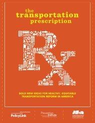 The Transportation Prescription - Convergence Partnership