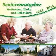 Seniorenratgeber Weißwasser, Niesky und Rothenburg 2012-2014