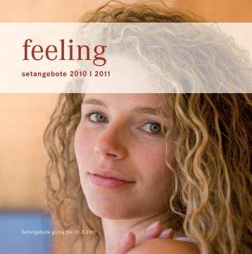 Winterfolder 2010/2011 - Feeling