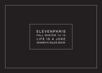 ELEVENPARIS FW1415 LIFEISAJOKE-WOMEN