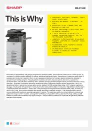 MX-2314N-Daugiafunkcis spausdintuvas, skaitmeninis, spalvotas ...