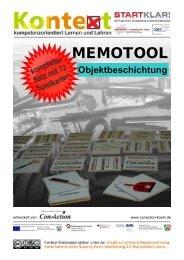 MEMOTOOL Objektbeschichtung - Stiftung Partner für Schule NRW