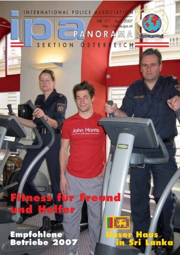 Fitness für Freund und Helfer