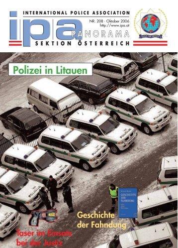 Polizei in Litauen