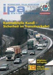 Kontrollstelle Kundl – Sicherheit im Transitverkehr! Kontrollstelle ...