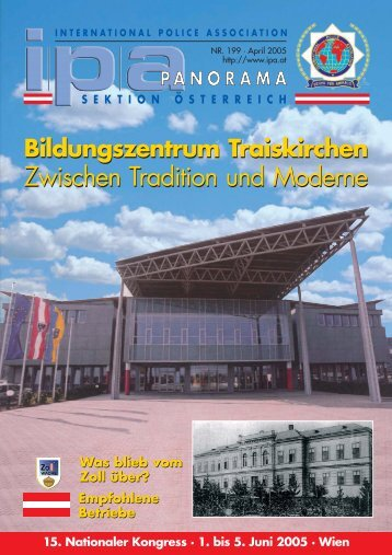 Zwischen Tradition und Moderne Zwischen ... - IPA Österreich