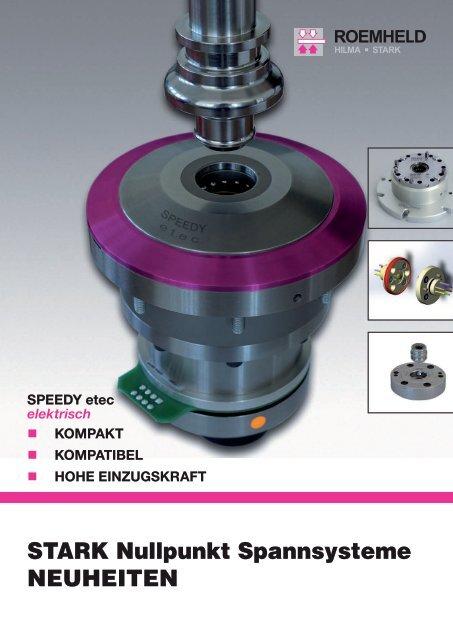 Flyer Neuheiten - bei STARK Spannsysteme GmbH