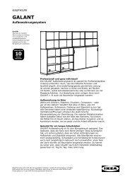 galantaufbewahrung - Ikea
