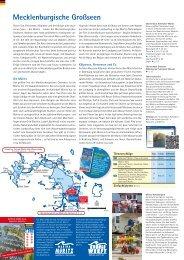 Mecklenburgische und Märkische Seenplatte - Kuhnle-Tours