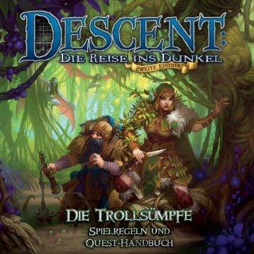 Die Trollsümpfe Spielregel - Heidelberger Spieleverlag