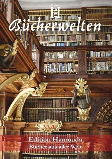 Flyer Bücherwelten 2013 - Edition Hamouda