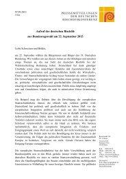 Aufruf der deutschen Bischöfe zur Bundestagswahl ... - Katholisch.de
