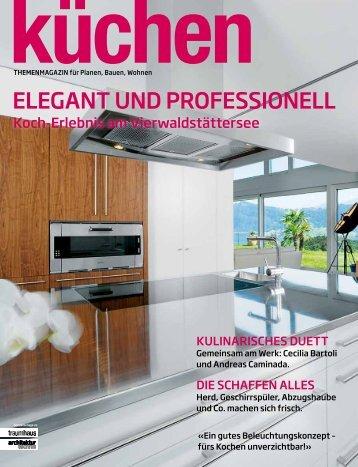 ELEGANT UND PROFESSIONELL - Brunner Küchen AG