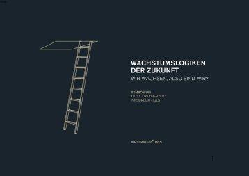 WACHsTumsLoGiKEN DER ZuKuNFT - Innovative Management ...