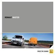 Renault Master Bus Broschüre als PDF-Download