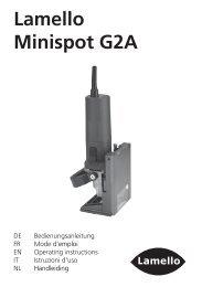 Lamello Minispot G2A