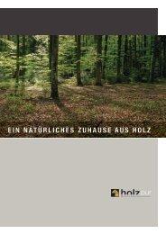 Broschüre Holzpur gross - Walter Küng AG