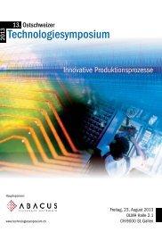 Programm - NTB - Interstaatliche Hochschule für Technik Buchs