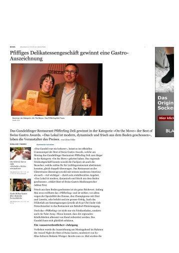 Basellandschaftliche Zeitung - Pfifferling