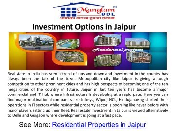 Residential Properties in Jaipur