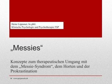 Messies - Psychiatrische Universitätsklinik Zürich