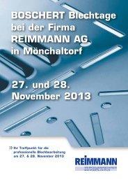 BOSCHERT Blechtage 27.+28.11.13 in Mönchaltorf (PDF, 1225 kb)