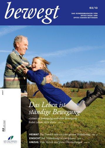 bewegt 03/13 - Spitex Basel