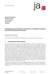 Dublin III und Eurodac-Verordnung - SP Schweiz