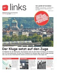 links 137, Juni 2013 - SP Schweiz