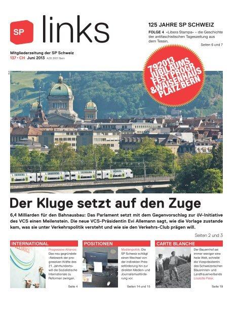 links 137, Juni 2013 - SP Schweiz