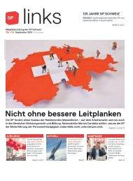 links 139, September 2013 - SP Schweiz